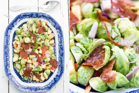 Brussel sprout sallad